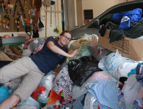 Clothing bank founder belled for helping foster children, families